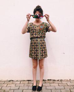 Barquinho de papel ⛵️❤️ #lojaamei #vestido #alpargata #sol #diadesol #muitoamor