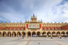Cloth Hall in Kraków houses the Gallery of the 19th-century Polish art of the National Museum in Kraków