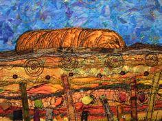 """Uluru"" www.carolinesharkey.com.au"