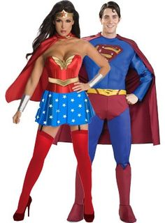 Super Hero Couples Halloween Costumes halloween