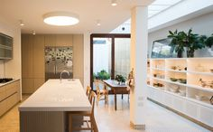 Divider, Table, Room, Furniture, Home Decor, Modern Kitchens, Architects, Modern, Style