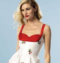 B5882 Misses' Dress | Vintage | by Gertie