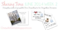 One Willis Family: Sharing Time June 2014 Week 2