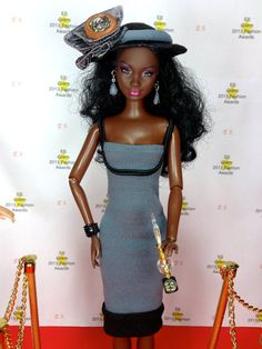 Doll Dress For Barbie  Gray Doll Dress with by EnchantedStyles, $10.00