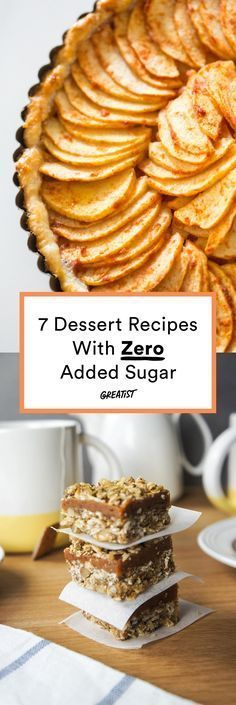 Give up the sugar, not the sweets. #greatist http://greatist.com/eat/sugar-free-desserts