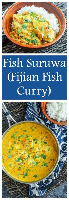 Fish Suruwa (Fijian Fish Curry) – Tara's Multicultural Table – Recipes And Desserts Curry Recipes, Seafood Recipes, Indian Food Recipes, Asian Recipes, Cooking Recipes, Ethnic Recipes, Canned Fish Recipes, Cooking Games, Cooking Classes