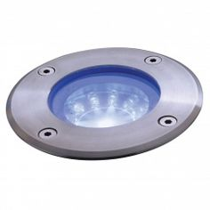 Endon EL-40025 12 Light Blue LED Outdoor Walkover Light IP67 In Stainless Steel