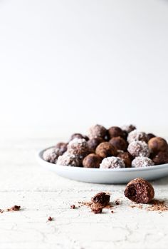 Truffles or energy bites    You decide, either way, they are tasty