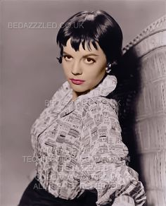NATALIE WOOD TECHNICOLOR CONVERSION BY BEDAZZZLED ENLARGED AND ENHANCED PREVIOUSLY B/W