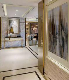 Fresh and Elegant Minimal Living Room Ideas Foyer Design, Interior, Bedroom Design, Home Decor, Residential Design, House Interior, Contemporary Home Decor, Interior Design, Luxury Interior