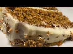 Tarta de Zanahoria o Carrot Cake en Monsieur Cuisine Connect. ¡Espectacularmente buena! - YouTube Lidl, Carrot Cake, Cheesecakes, Yummy Cakes, Carrots, Food Porn, Cooking, Ethnic Recipes, Desserts