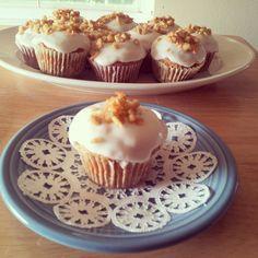 Vegan Carrot Cake Cupcakes  recipe on my blog: http://vegangypsy.blogspot.com