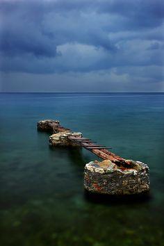 """""""Broken Violin of the Sea"""" Kato Gatzea - Magnisia, Greece / by Cretense www.6klidia.gr"""