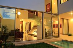 Conceptual Homes by Duarte Aznar Arquitectos