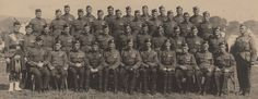 Officers of the Scottish Rifles during WWI.
