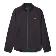 Fred Perry Bradley Wiggins Bomber Jacket<p>Navy