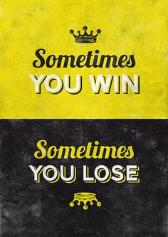 Sometimes you win... By Hannes Beer