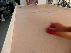 DIY Air Hockey table. KEWLNESS!!