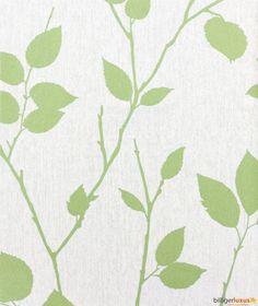 Graham & Brown Superfresco non-woven wallpaper Element 31-871 31871 leaves cream green Wallpapers Graham & Brown Element