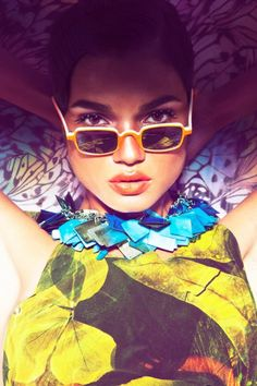 "Stylists Mauricio Mariano & Alessandro Lazaro sent us their latest editorial, ""Tropicaliente"", for Kaltblut Magazine. The colorful editorial features model Daniela Braga photographed by Fernando Mazza and with art direction by Marcel Schlutt.  Trendland."