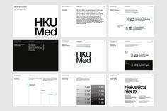 Digital Web, Helvetica Neue, Instagram Website, Stationary Set, Old Logo, Brand Guidelines, Simple Colors, Graphic Design Typography, Branding