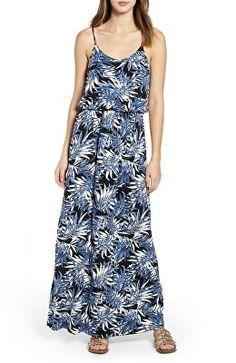 2efb65088ce01 Lennie for Nina Leonard Women's Fuchsia/ Orange Striped Maxi Dress ...