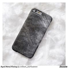 Aged Metal Plating Barely There iPhone 6 Case