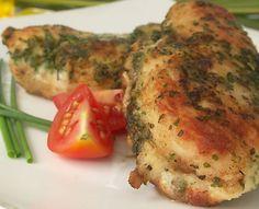Pollo a las Hierbas deliciosa y nutritiva receta ideal para una ocasión especial o cuando lo desee. Sirvase con puré y vegetales salteados de su preferencia