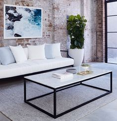 Finally Back In Stock Just Time For Xmas The Max Italian Carrara Marble Coffee Table