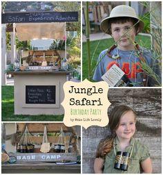 ELEPHANT DUNG OR TREASURE ROCKS>>>Jungle Safari Birthday Party (Part 2) - Make Life Lovely