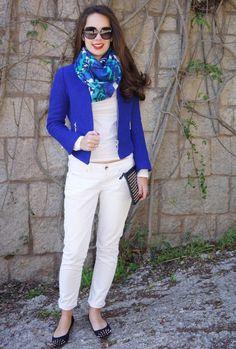 diferentes formas de usar un blazer azul - Buscar con Google