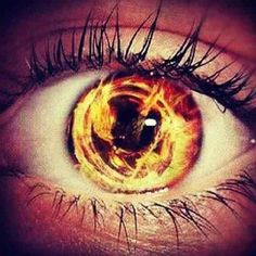 The Hunger Games eye
