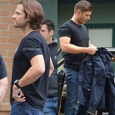 #j2 pictures from #BTS #Supernatural S12.E05 Cr: twitter : KelsiSPhoto