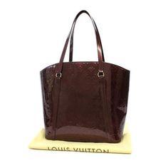 Louis Vuitton Avalon GM Monogram Vernis Shoulder bags Purple Patent Leather M91742