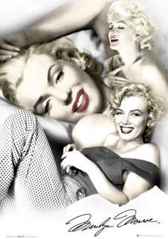 FOTOS DE CINE: Marilyn Monroe (en color)