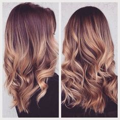 Ombre Curls hair hair ideas hairstyles hair pictures hair designs hair images