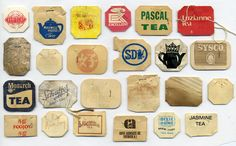 Vintage tea collections