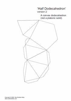 Net half isosceles dodecahedron (2)