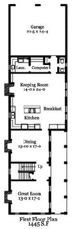 CHRL2644 Charleston Square http://www.historicaldesigns.com/index.php?action=listingview&listingID=134 Authentic Historical Designs, LLC House Plan