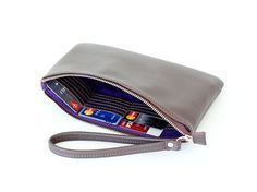 Leather wristlet  Purchase this alone or choose your by Adeleshop