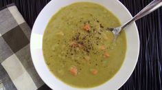 Smoky Split Pea & Carrot Soup