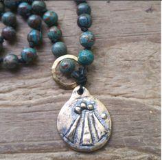 Awen, awen prayer beads, awen mala, awen rosary, spirit prayer beads, spirit mala, spirit rosary, muse prayer beads, muse meditation beads, by MagickAlive on Etsy