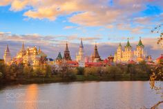 Popular on 500px : Izmailovo Vernissage is a beautiful sight at sunset by GleBB