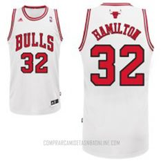 303d5da8243 Richard Hamilton Jersey Revolution 30 Swingman Chicago Bulls Home Jersey