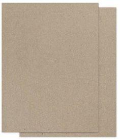 Brown Bag Paper – KRAFT – 8.5 x 11 – 65lb COVER – 100 PK