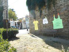 Prospettive poetiche nel sottomura di Prato.