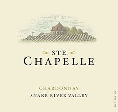 2012 Ste. Chapelle Snake River Valley Chardonnay 750 mL -- To view further for this item, visit the image link.