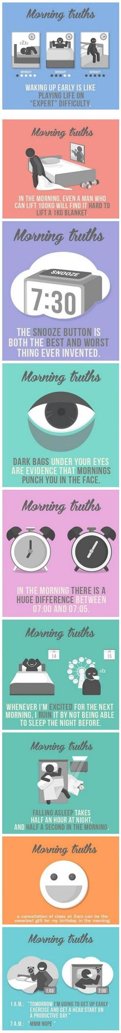 I can so relate to the first illustration. The one about dark circles under the eyes is hilarious!! Funny stuff :)