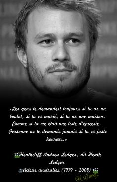MeWe is the Next-Gen Social Network. Heath Ledger, Never Stop Dreaming, Motivational Quotes, Inspirational Quotes, French Quotes, Smiles And Laughs, Change Quotes, Positive Life, Happy Thoughts