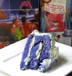 Ube Cake from Cleo Coyle at CoffeeHouseMystery.com